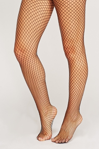 Spandex Seamless Designed Fishnet Pantyhose