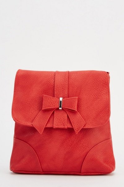 Bow Front Crossbody Bag