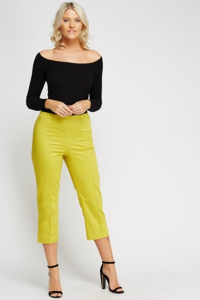 Capri Cropped Trousers