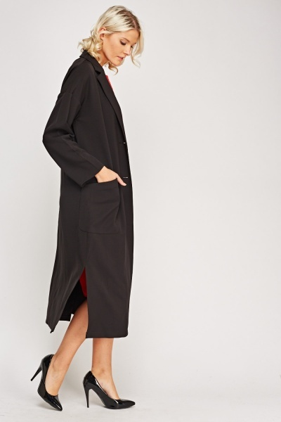Black Boyfriend Duster
