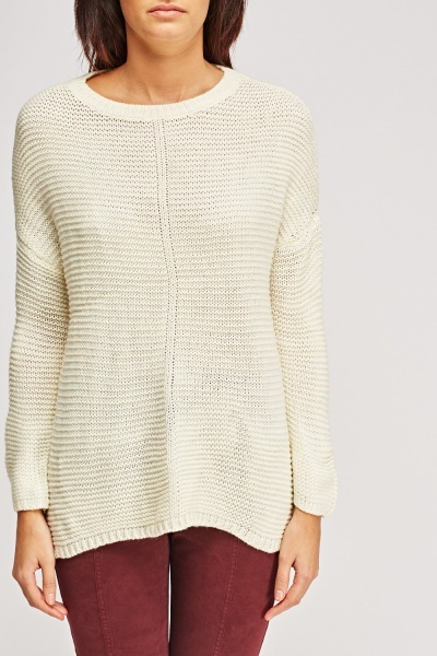 Soft Knitted Oversized Jumper