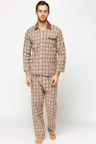 Paisley Printed Pyjama Set