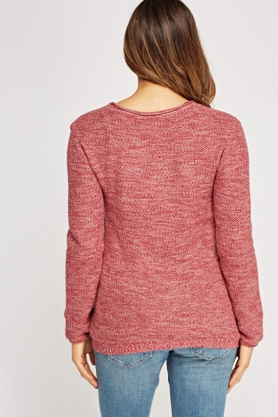 Speckle Basic Casual Jumper