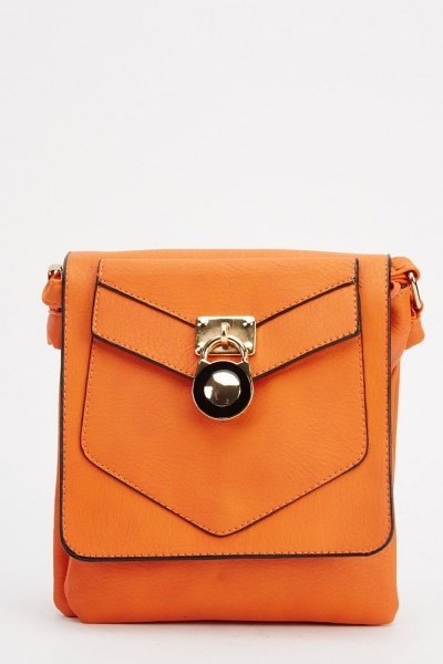 Metallic Detail Shoulder Bag
