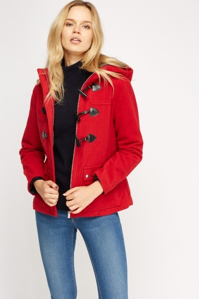 Hooded Fleece Coat