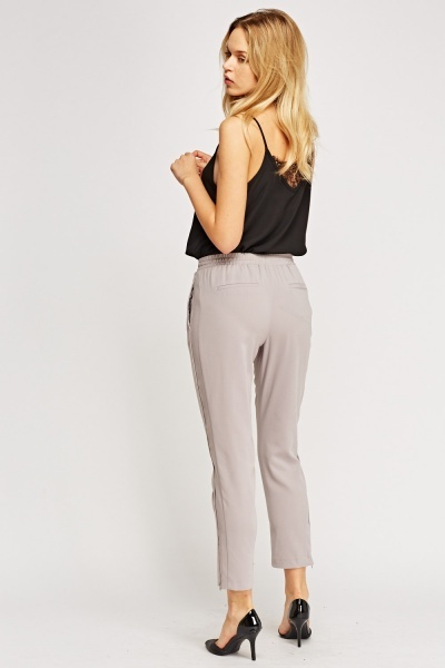 Grey Light Weight Trousers