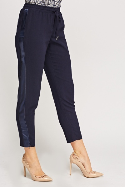 Sateen Insert Casual Trousers