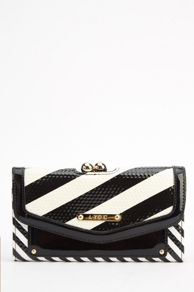L Y D C London Mono Contrast Purse