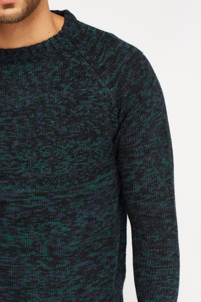 Round Neck Speckle Jumper