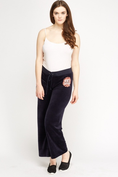 Juicy Couture Velveteen Jogger Pants