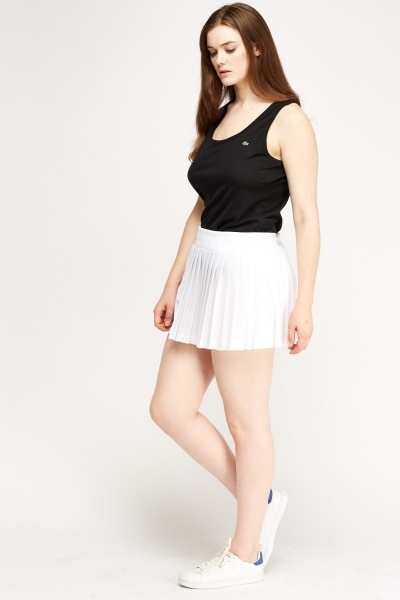 Lacoste Pleated Mini Sports Skirt
