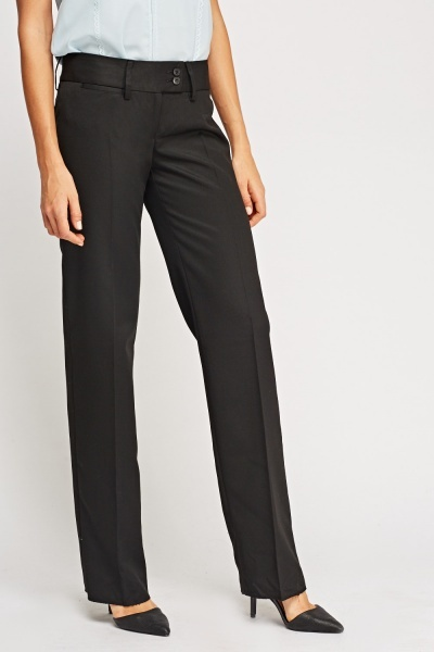 Tapered Formal Trousers