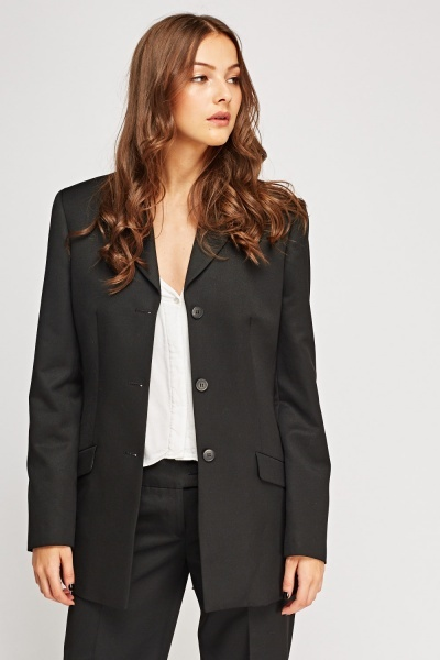 Formal Black Blazer