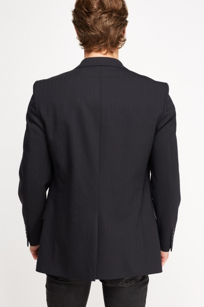 Mens Navy Formal Blazer
