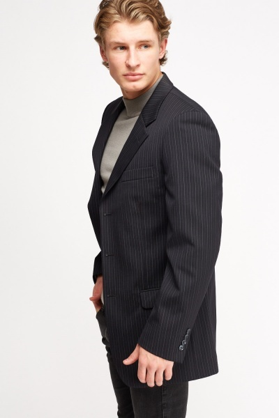 Mens Pinstripe Formal Blazer