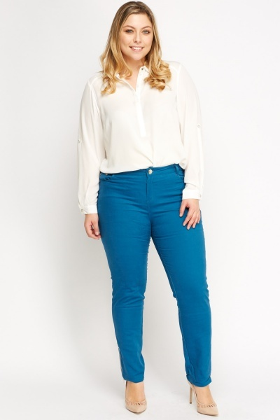 Casual Fitted Jeans