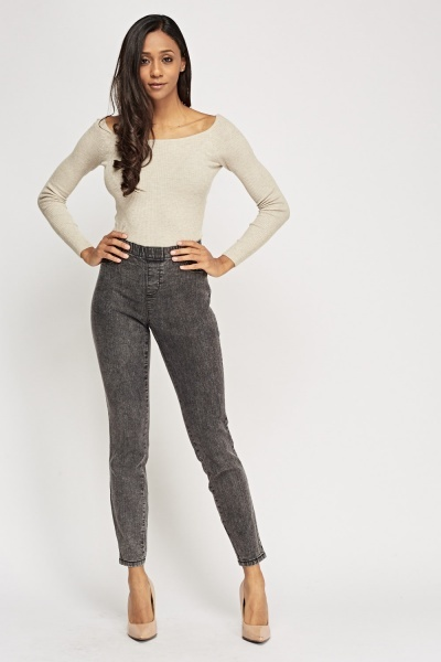 Denim Slim Fit Jeggings