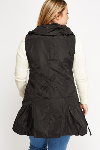 Ruched Light Weight Jacket
