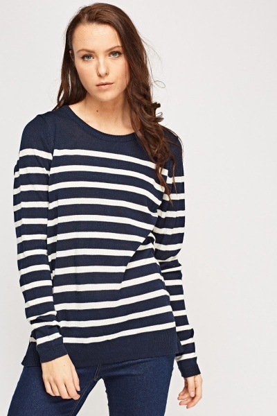 Stripe Thin Jumper