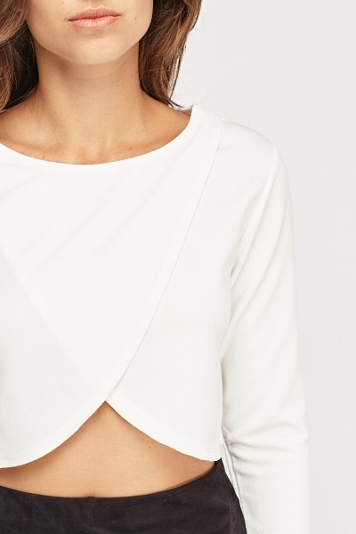 Wrapped Crop Top