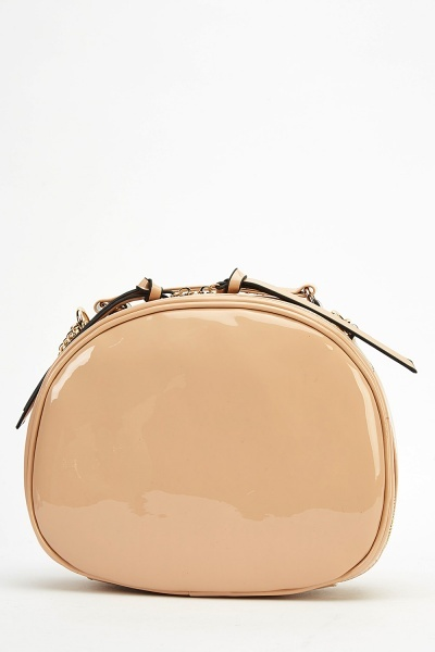 PVC Round Shoulder Bag