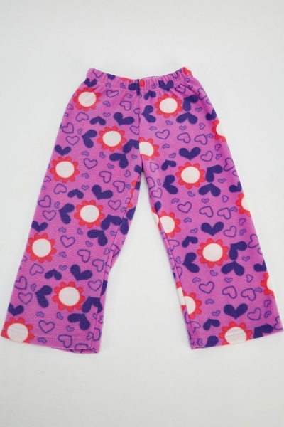 Fleeced Doc Mcstuffin Printed Pants