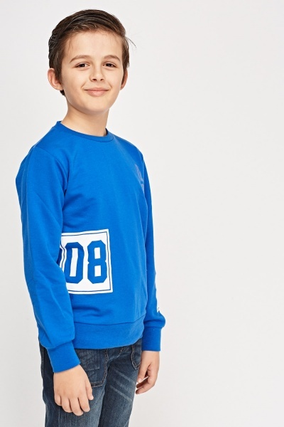 Logo Printed Sweater