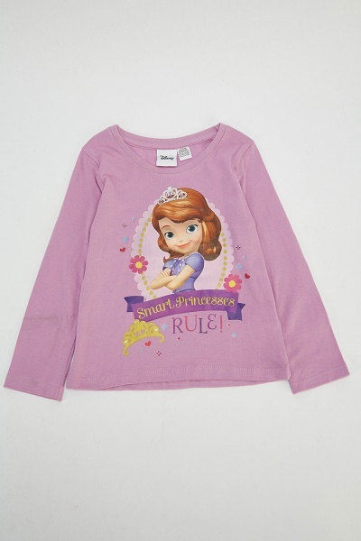 Sofia The First Graphic Top