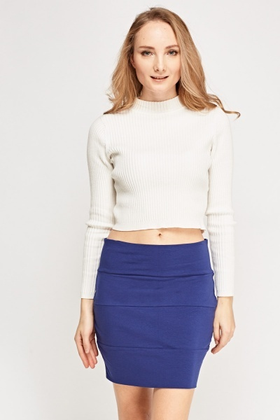 Pack Of 5 Basic Mini Skirt