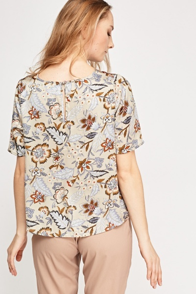 Silky Floral Box Top