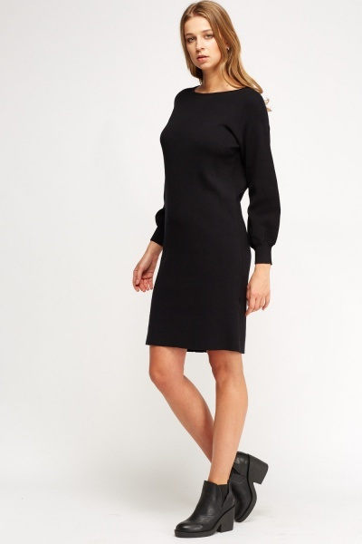 Longline Jumper Dress