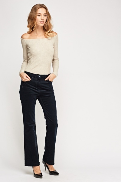 Cord Bootcut Jeans