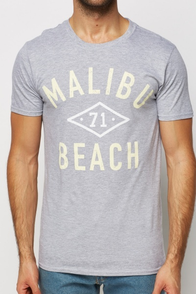Malibu Beach Logo T-Shirt