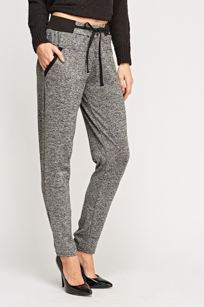 Speckled Contrast Trousers