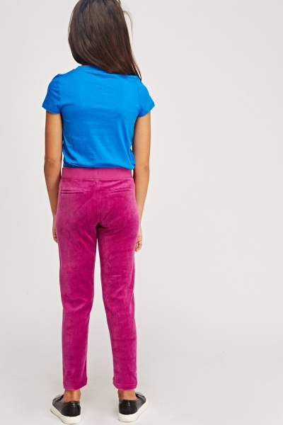 Juicy Couture Logo Slim Pants