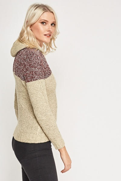 Two Tone Speckle Jumper