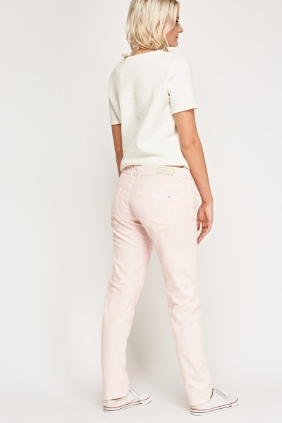 Lacoste Light Pink Denim Jeans