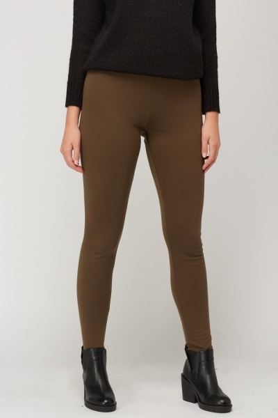 Olive Basic Elasticated Leggings