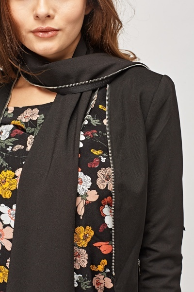 Shawl Front Lined Blazer