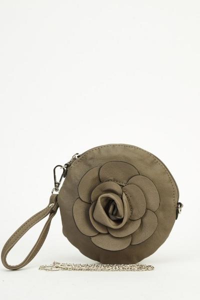 Small 3D Rose Bag