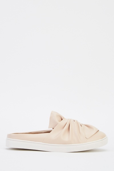 Twist Knot Slip On Shoes