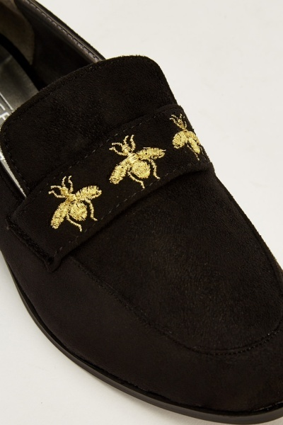 Suedette Bumble Bee Shoes