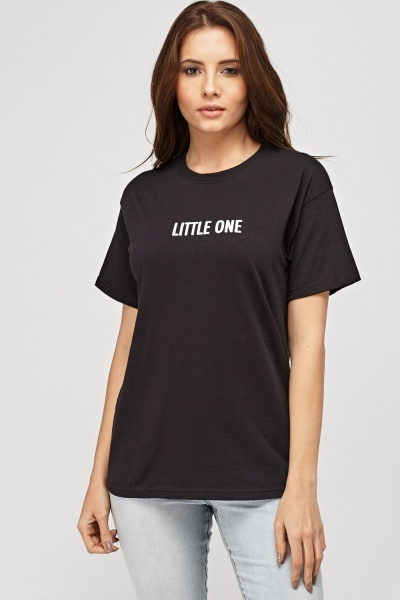 Little One Printed T-Shirt