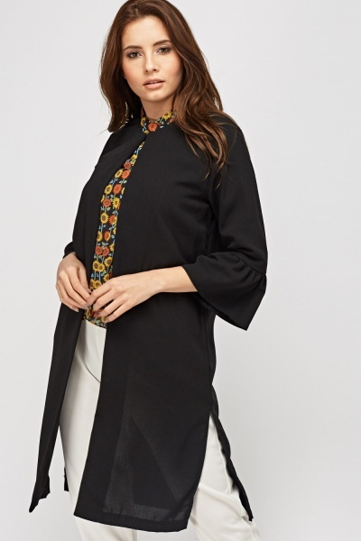 Long Line Duster Jacket