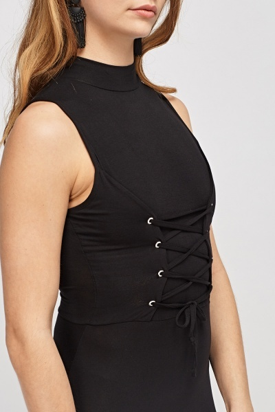 Corset Waist Bodycon Dress