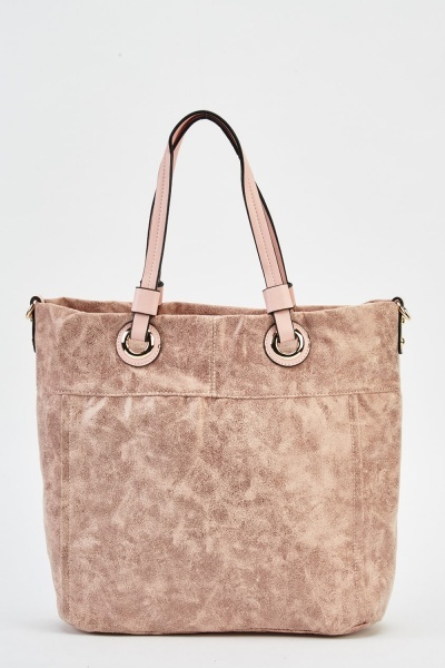 Hi-Shine Faux Leather Bag