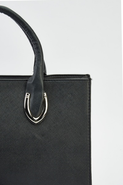 Metallic Detailed Handbag