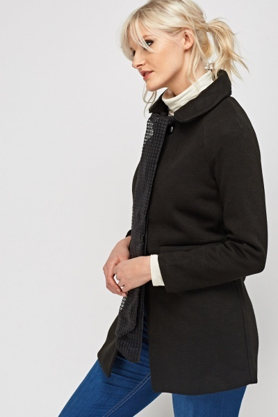 Long Casual Scarf Jacket