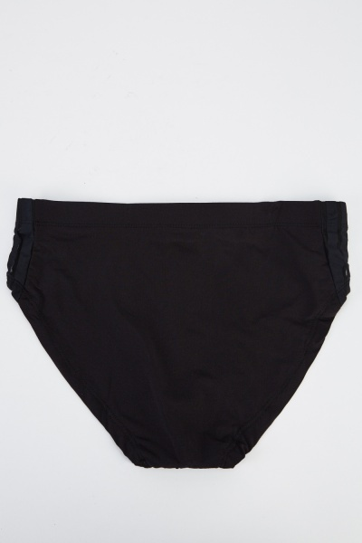 Pack Of 4 Black Slip Briefs