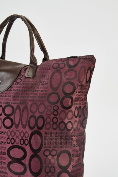 Printed Foladable Shopper Bag